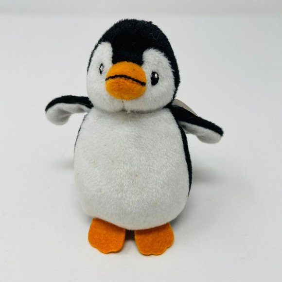 """Ty Beanie Babies Chill The Penguin 3"""" Plush"""
